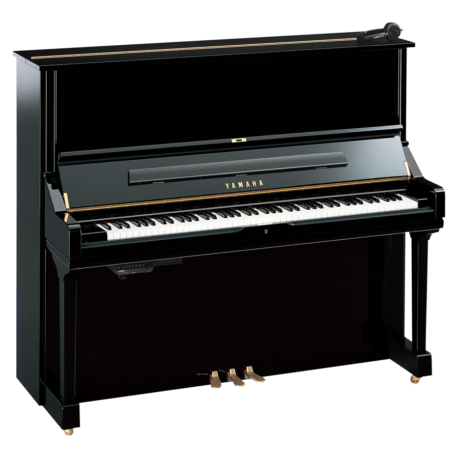 Yamaha U3 Silent Polished Ebony