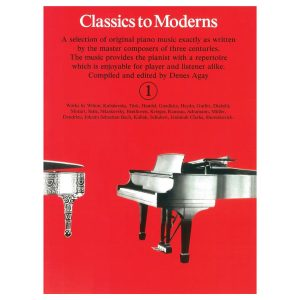 Classics To Moderns Book 1